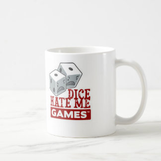 サイコロは私をゲームのマグ憎みます コーヒーマグカップ