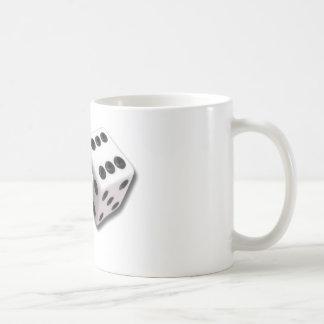 サイコロを転がって下さい! コーヒーマグカップ