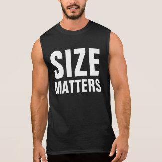 サイズの問題 袖なしシャツ