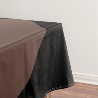 サイズの選択の黒い綿のテーブルクロスだけ テーブルクロス
