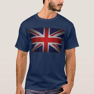 サイズのTシャツと英国国旗のイギリスの旗 Tシャツ