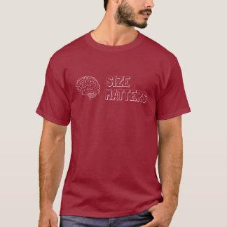 サイズは学術のほのめかし重要です Tシャツ