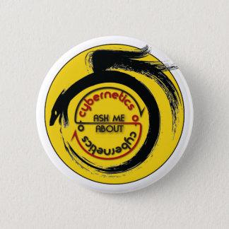 サイバネティックスボタンのサイバネティックス 5.7CM 丸型バッジ