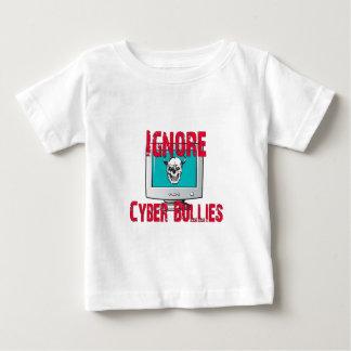 サイバーのいじめっ子を無視して下さい ベビーTシャツ