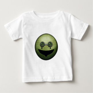 サイバーのにやにや笑い ベビーTシャツ
