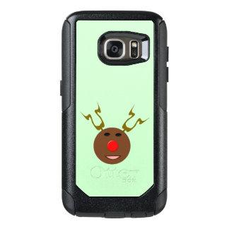 サイバーのクリスマスのトナカイの電話箱 オッターボックスSamsung GALAXY S7ケース