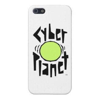 サイバーの惑星のロゴ iPhone 5 カバー
