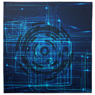 サイバーの技術トリックスパターン ナプキンクロス