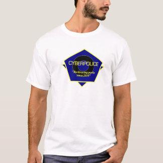 サイバーの警察の役人のユニフォーム Tシャツ