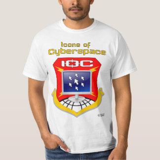 サイバースペースのアイコン (IOC) Tシャツ