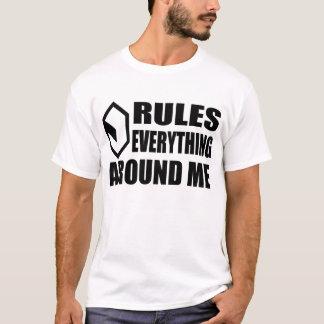 サイバースペースのクリーム(ライト) Tシャツ