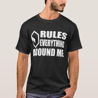 サイバースペースのクリーム(暗い) Tシャツ
