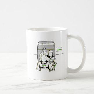 サイファイの宇宙飛行士 コーヒーマグカップ