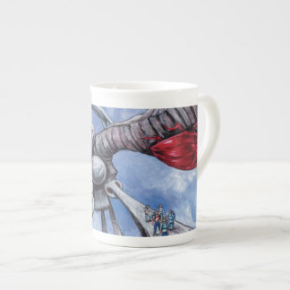 サイファイの虫のマグ ボーンチャイナカップ