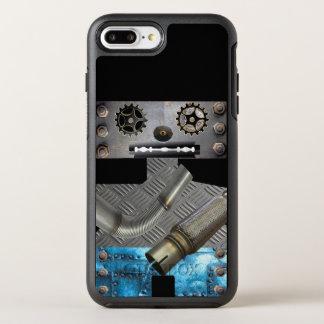 サイファイの金属のロボットIphoneの場合 オッターボックスシンメトリーiPhone 8 Plus/7 Plusケース