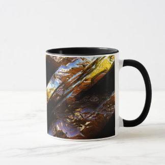 サイファイの金属の芸術2-3のマグ マグカップ