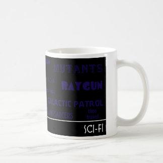 サイファイはマグを名づけます コーヒーマグカップ