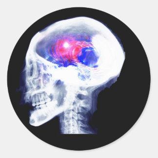 サイボーグの頭脳 ラウンドシール