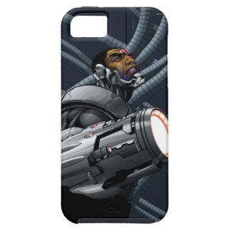 サイボーグ及び武器のバスト iPhone SE/5/5s ケース