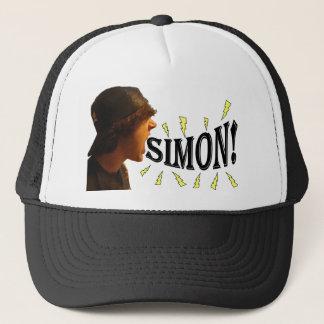 サイモン! トラック運転手の帽子 キャップ