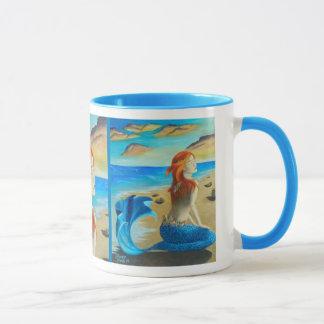 サイレンのマグの人魚のマグ マグカップ