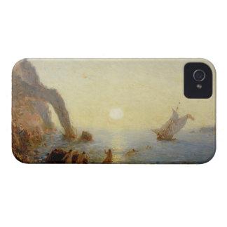 サイレン(キャンバスの油)の呼出し Case-Mate iPhone 4 ケース