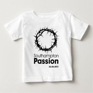 サウサンプトンの情熱の乳児のTシャツ ベビーTシャツ