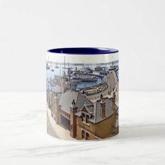 サウサンプトン桟橋 ツートーンマグカップ
