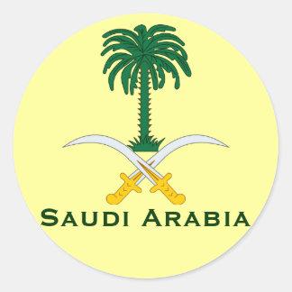 サウジアラビアの回状Sticker* ラウンドシール