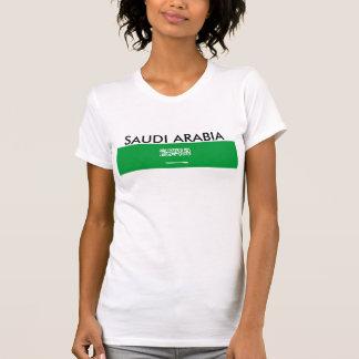 サウジアラビアの国旗の国家の記号 Tシャツ