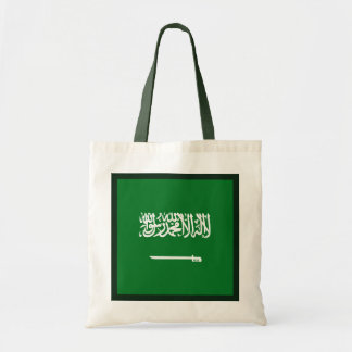 サウジアラビアの旗のバッグ トートバッグ