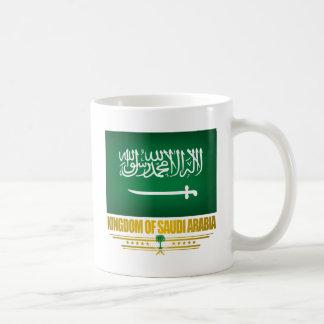 サウジアラビアの旗 コーヒーマグカップ