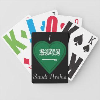 サウジアラビアの旗 バイスクルトランプ