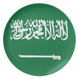 サウジアラビアの旗 プレート