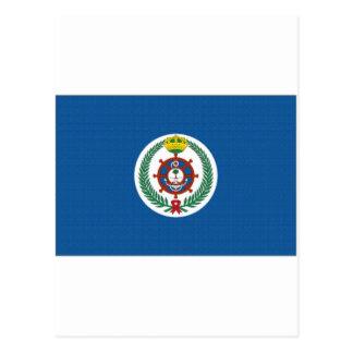 サウジアラビアの旗 ポストカード