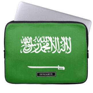 サウジアラビアの旗 ラップトップスリーブ