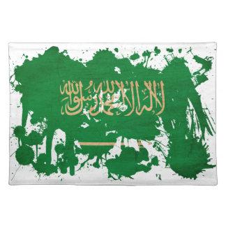 サウジアラビアの旗 ランチョンマット