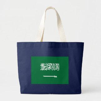 サウジアラビアの旗 ラージトートバッグ