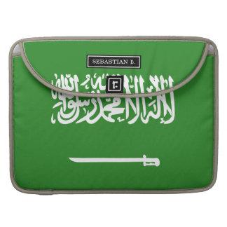 サウジアラビアの旗 MacBook PROスリーブ