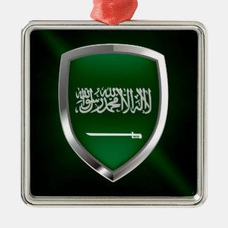 サウジアラビアの金属紋章 メタルオーナメント