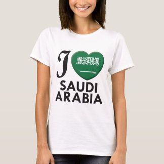 サウジアラビア愛 Tシャツ