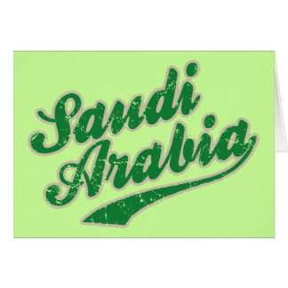 サウジアラビア カード