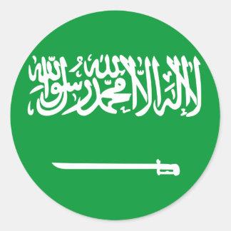 サウジアラビア 丸型シール