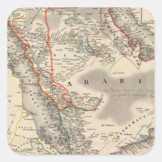 サウジアラビア 正方形シール
