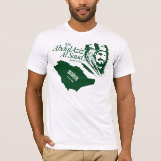 サウジアラビア-王のabdulaziz tシャツ