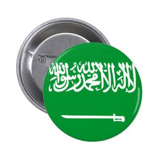 サウジアラビア 5.7CM 丸型バッジ