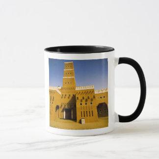 サウジアラビア、RiyadのAl Diriyaのモスク マグカップ