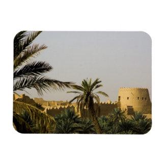サウジアラビア、RiyadのAlDiriyaのSaudの古い町 マグネット