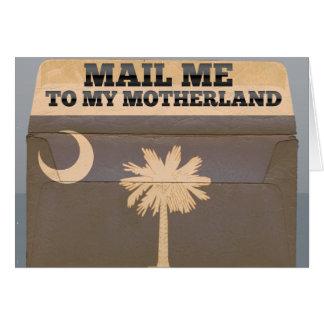 サウスカロライナに私を郵送して下さい カード