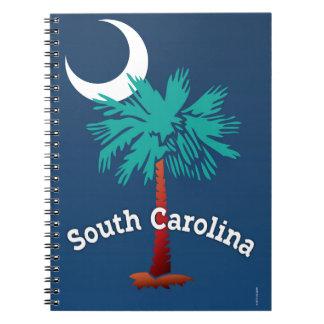 サウスカロライナのパルメット ノートブック